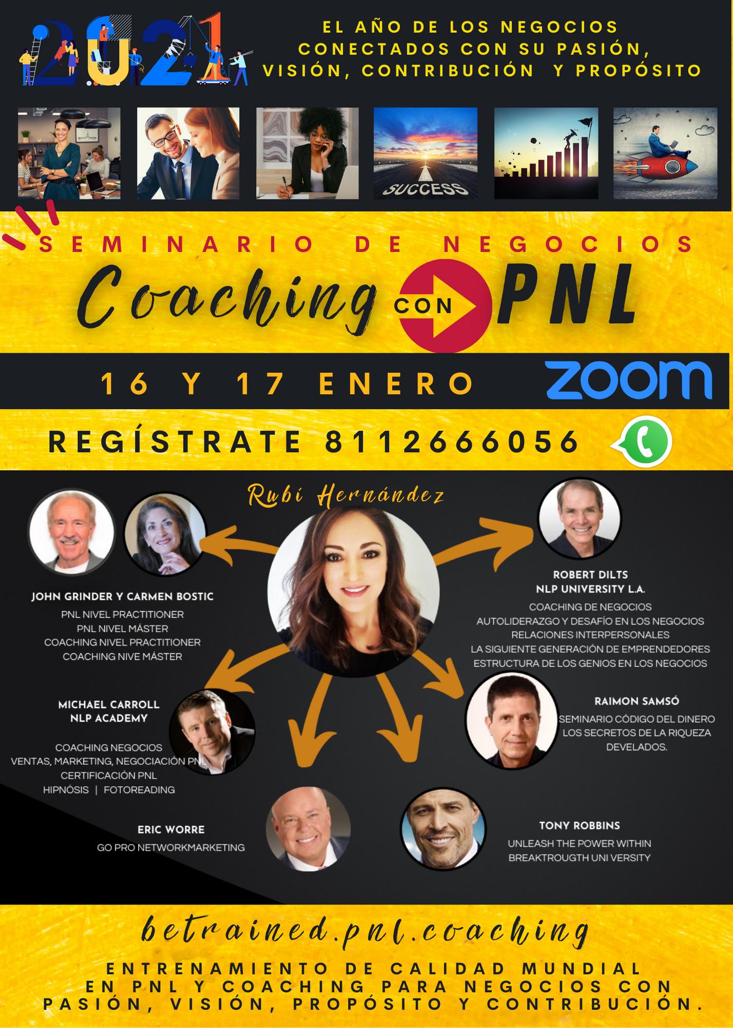 promo seminario pnl y coaching